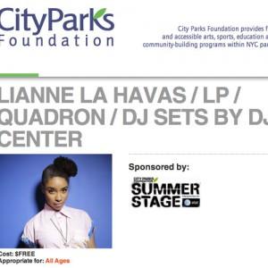 Summerstage (CityParks Foundation)