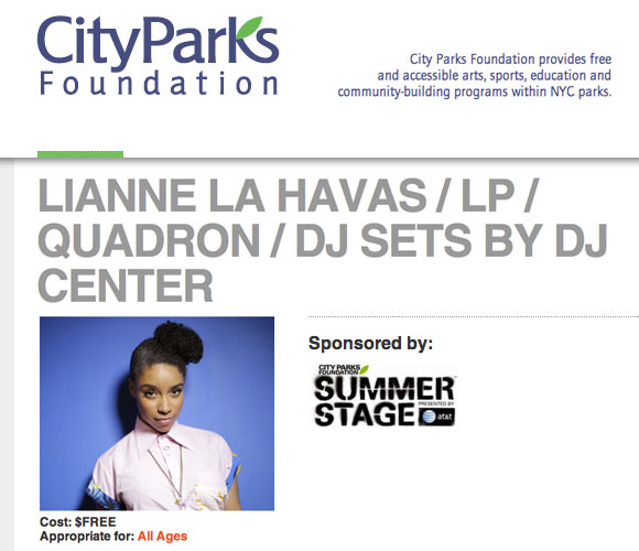 Summerstage (CityParks Foundation)
